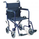 Attendant Propelled Transport Wheelchair (Black)