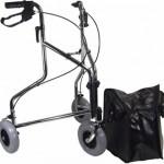 Chrome Steel tri-walker