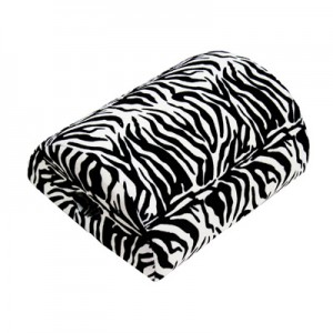 4-in-1 Cushion (Colour Black/White Zebra)